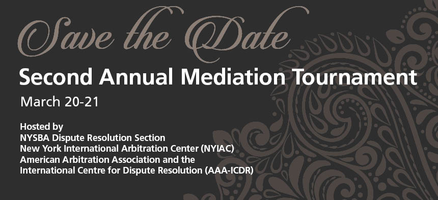 2020 Mediation Competition