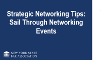 Sailing Through Networking Events