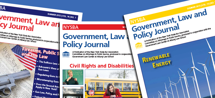 Government, Law and Policy Journal