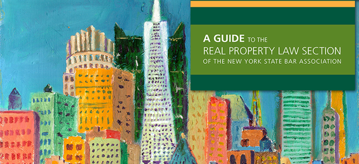 Real Property Law Section Handbook Slider