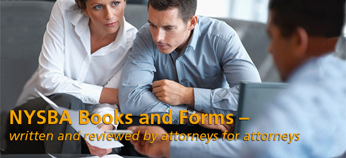 NYSBA Books and Forms 3
